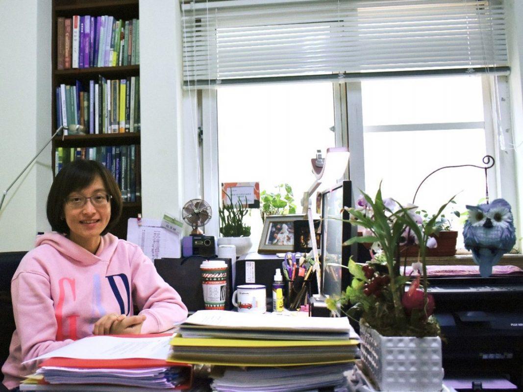 中央警察大學防災研究所副教授林貝珊